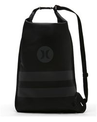 Hurley - Wet And Dry Roll Up Cinch Sack (black) - Clearance Sale - Lyst