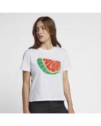 Hurley - Aloha Watermelon Crop Top Tomboy T-shirt - Lyst