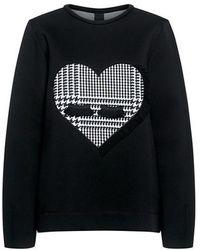 Mother Of Pearl - Edith Heart Bonded Sweatshirt - Lyst
