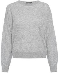 Theory - Criselle M Drop Shoulder Sweater - Lyst