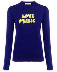 Bella Freud - Love Music Sweater - Lyst