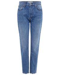10 Crosby Derek Lam - Lou High-rise Straight-leg Jeans - Lyst