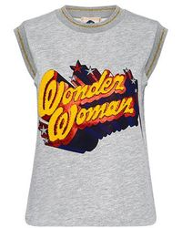 Paul & Joe - Ares Wonder Woman Sweatshirt Tank - Lyst