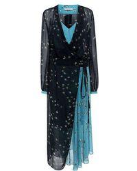 Preen Line - Kay Wrap Dress - Lyst