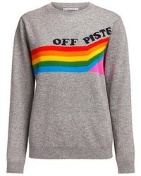 Chinti & Parker - Grey Off Piste Cashmere Sweater - Lyst