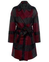 Mother Of Pearl - Morgan Plaid Wrap Coat - Lyst