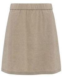 Theory - A Line Crunch Skirt - Lyst