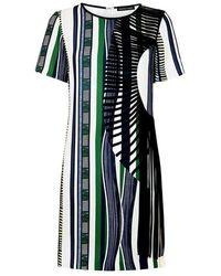 Sachin & Babi - Dorca Embellished Striped Mini Dress - Lyst