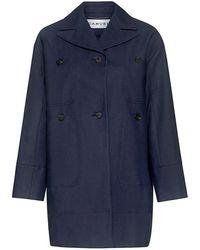 Carven | Manteau Coat | Lyst