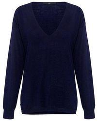 Tibi - Featherweight Cashmere V-neck Sweater - Lyst