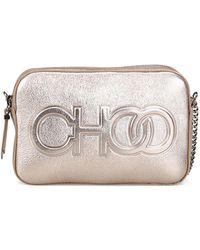 Jimmy Choo - Balti Choo Logo Camera Bag - Lyst