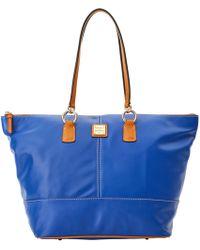 Lyst - Lauren By Ralph Lauren Newbury Stefanie Saffiano Leather ... 2406e66f1b