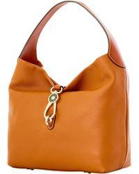 Dooney & Bourke - Pebble Grain Logo Lock Shoulder Bag - Lyst