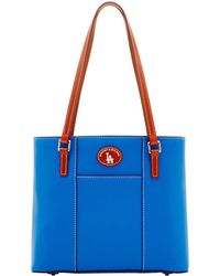 Dooney & Bourke - Mlb Dodgers Small Lexington - Lyst