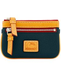 Dooney & Bourke - Patterson Leather Small Coin Case - Lyst