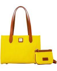Dooney & Bourke - Eva Small Shopper W Med Wristlet - Lyst
