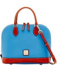Dooney & Bourke - Pebble Grain Zip Zip Satchel - Lyst