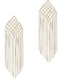 Rosantica - Aquilone Long Fringe Earrings - Lyst