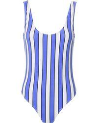 Caroline Constas Mer - Artisi Striped One Piece Swimsuit - Lyst
