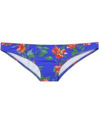 Caroline Constas Mer - Kali Floral Bikini Bottom - Lyst