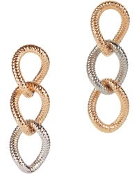 Vita Fede Raffina Link Drop Earrings FQrML2t