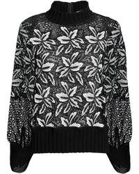 Sea - Lace Sweatshirt - Lyst