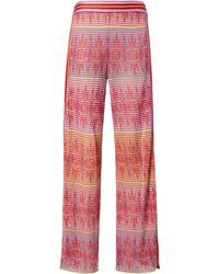 Cecilia Prado - Split Hem Printed Pants - Lyst