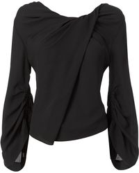 Chris Gramer - Ruched Detail Top - Lyst