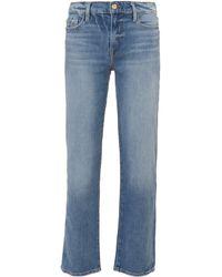FRAME - Nouveau Straight Leg Jeans - Lyst