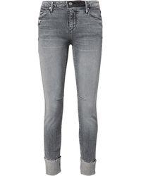 RTA - Nova Cuffed Skinny Jeans - Lyst