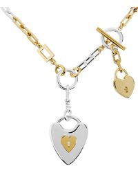 Lulu Frost - Folly Heart Lock Necklace - Lyst