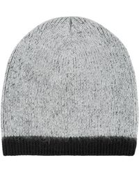 41c76b06ac29e Lyst - Kangol Knit Colorblock Beanie in Black