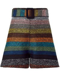 Nicholas | Striped Tailored Shorts | Lyst
