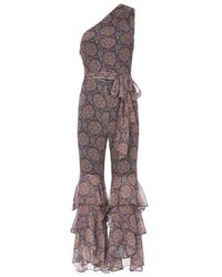 Exclusive For Intermix - Stevie Printed Jumpsuit - Lyst
