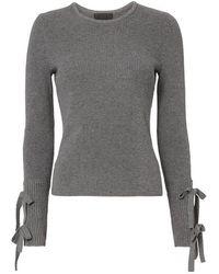 Exclusive For Intermix - Jordana Tie Sleeve Rib Knit - Lyst