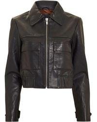 VEDA - Jack Leather Jacket - Lyst
