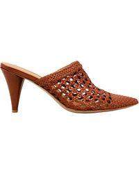 Veronica Beard - Jaqlyn Crochet Design Mules - Lyst