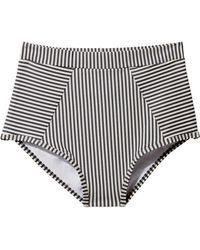 Suboo | Ziggy Striped Bikini Bottom | Lyst
