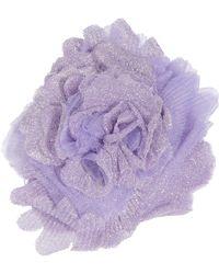 Missoni - Lavender Lurex Flower Pin - Lyst
