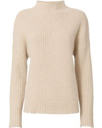 Exclusive For Intermix - Mixed Ribbed Knit Sweater - Lyst