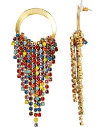 Elizabeth Cole - Rowan Rainbow Earrings Rainbow/gold 1size - Lyst