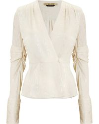 Hellessy - Cassie Brocade Jacket Top - Lyst