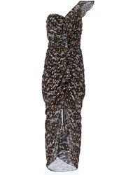 Veronica Beard - Ruffian Ruched Dress - Lyst