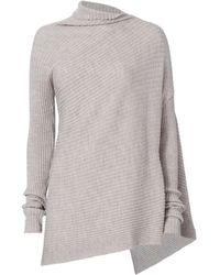 Marques'Almeida - Draped Asymmetric Knit Sweater - Lyst