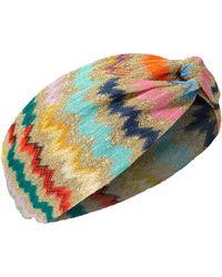 Missoni | Lurex Chevron Headband | Lyst