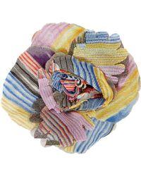 Missoni | Multicolored Flower Pin | Lyst