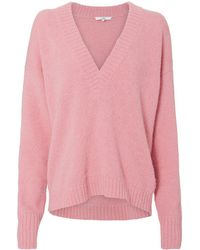 Tibi - V-neck Sweater - Lyst