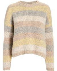 Intermix - Henrietta Striped Sweater - Lyst