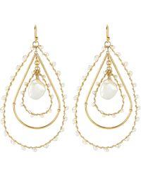 Gas Bijoux - Orphee Teardrop Earrings - Lyst
