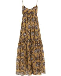 Zimmermann - Castile Tiered Maxi Dress - Lyst